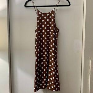 Polka dot Zara dress